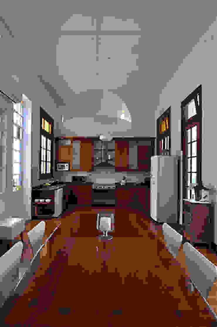 Cocina y comedor de Matealbino arquitectura