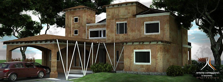 Oleh Estudio 'Antonio Corteggiano y Asoc. Arquitectura'