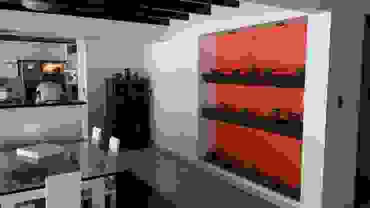 LFC Arquitectos Moderne woonkamers