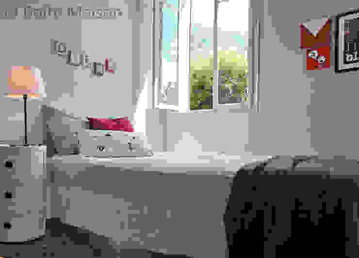 Scandinavian style bedroom by Boite Maison Scandinavian