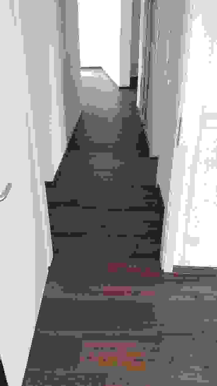 Project Bodenprofis Boden-Verlege-Betrieb G. Kimmel Modern corridor, hallway & stairs