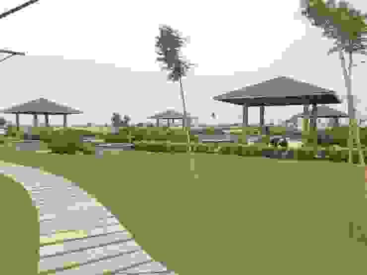 Landscape Modern Garden by Indish Landscapes Modern