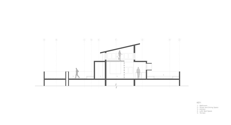 Drawings - Section: modern  by BETWEENLINES,Modern
