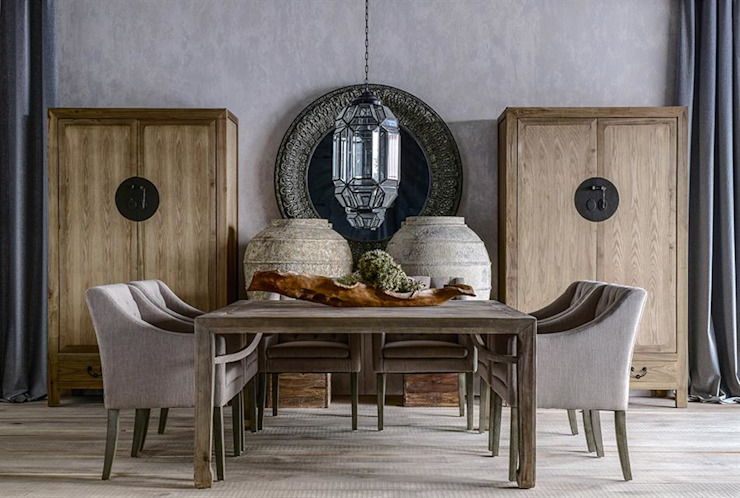 Colonial style dining room by DECORSIA HOME,S.L. Colonial