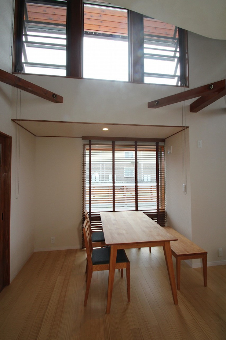 大出設計工房 OHDE ARCHITECT STUDIO Modern Dining Room
