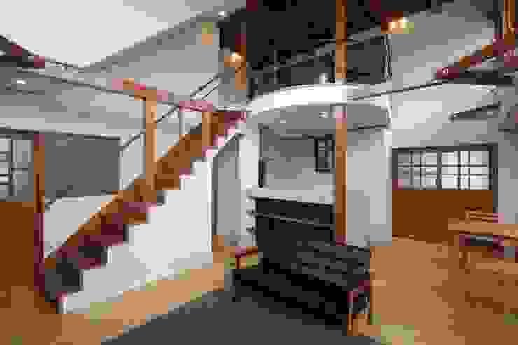 大出設計工房 OHDE ARCHITECT STUDIO Modern Living Room