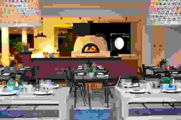 Praia Verde Boutique Hotel Espaços de restauração industriais por Pureza Magalhães, Arquitectura e Design de Interiores Industrial