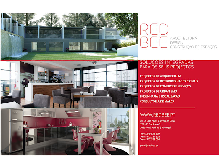 RedBee Moderne huizen