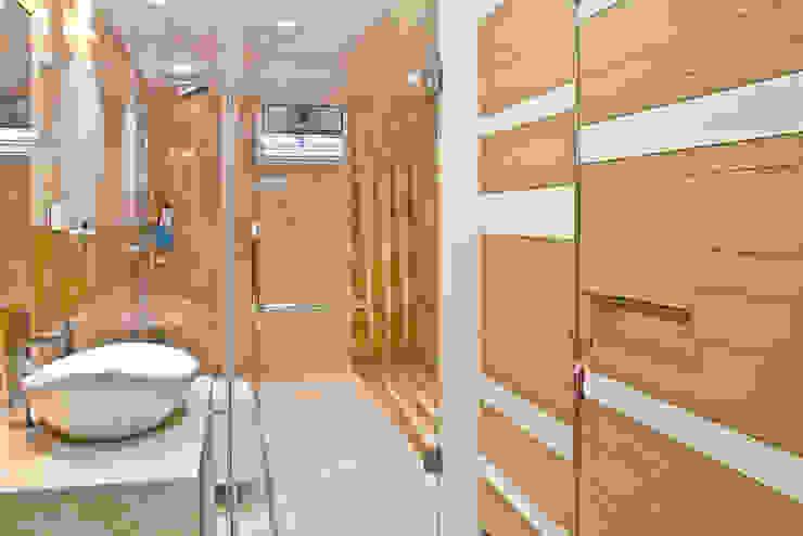 Interiors at Rajhans Maxima apartments,Surat: modern  by Hundreddesigns,Modern