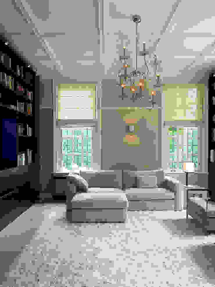 Villa Hilversum Klassieke mediakamers van Designa Interieur & Architectuur BNA Klassiek