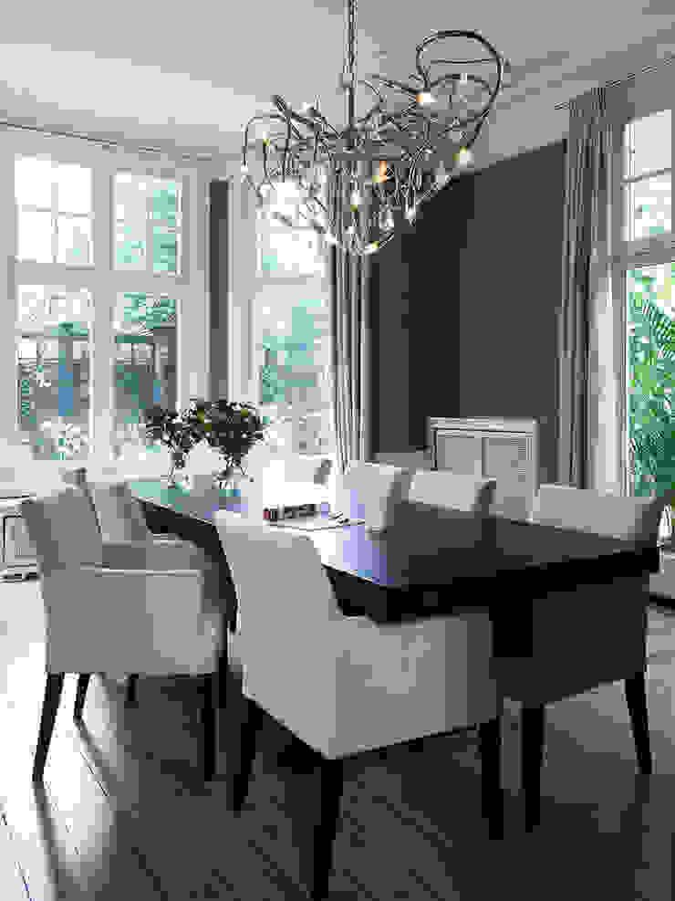 Villa Hilversum Klassieke eetkamers van Designa Interieur & Architectuur BNA Klassiek
