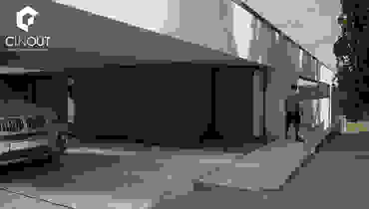 Moradia em Construção por CINOUT - Obras, Design e Manutenção Lda. Moderno