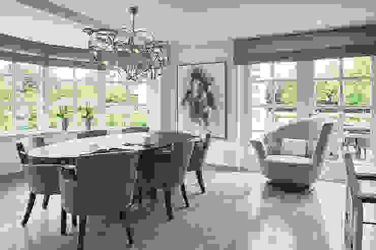 Villa Hilversum Rustieke eetkamers van Designa Interieur & Architectuur BNA Rustiek & Brocante