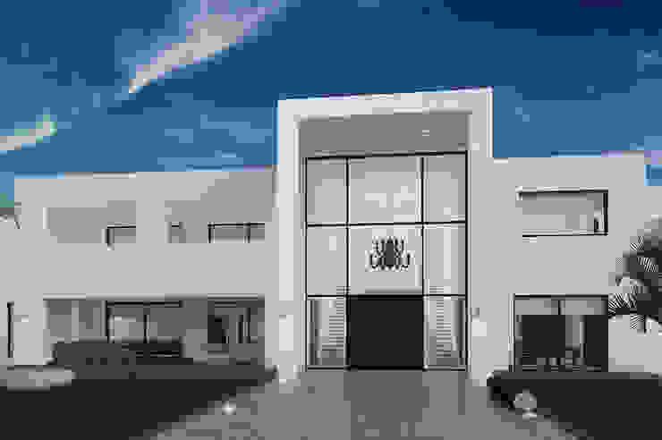Villa Paramaribo Moderne huizen van Designa Interieur & Architectuur BNA Modern