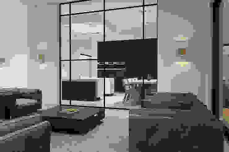 Villa Paramaribo Moderne woonkamers van Designa Interieur & Architectuur BNA Modern