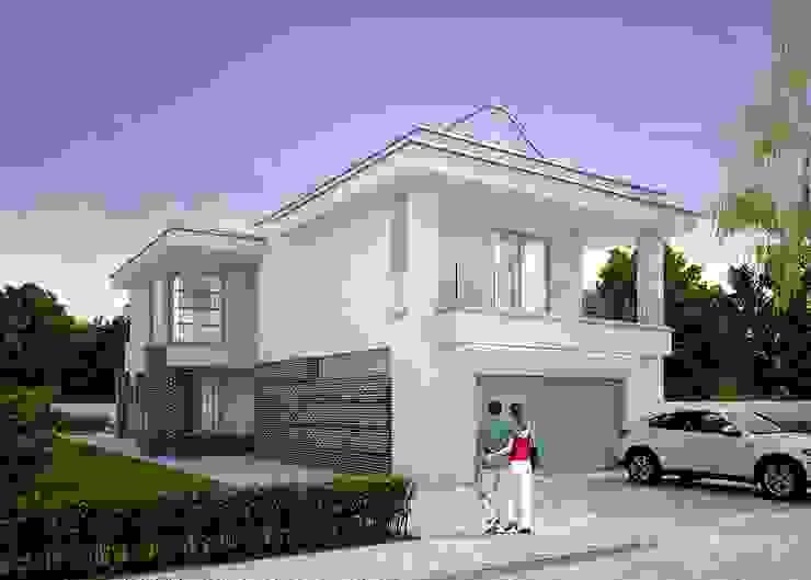 Modern garage/shed by LK&Projekt GmbH Modern