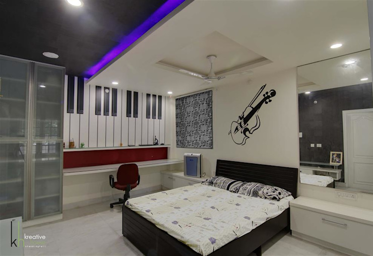 Children's Bed Room Modern style bedroom by KREATIVE HOUSE Modern Plywood