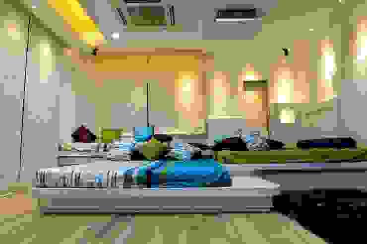 Offcentered Architects Minimalistische Schlafzimmer