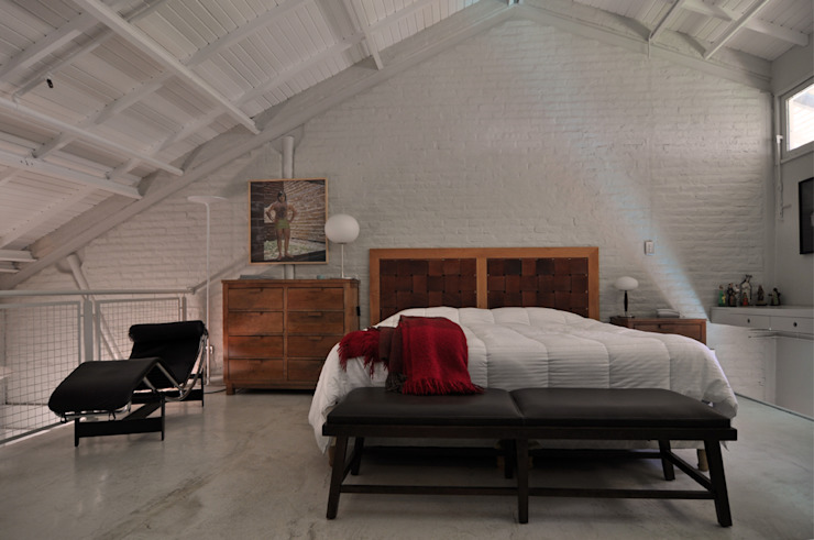 Modern style bedroom by Matealbino arquitectura Modern