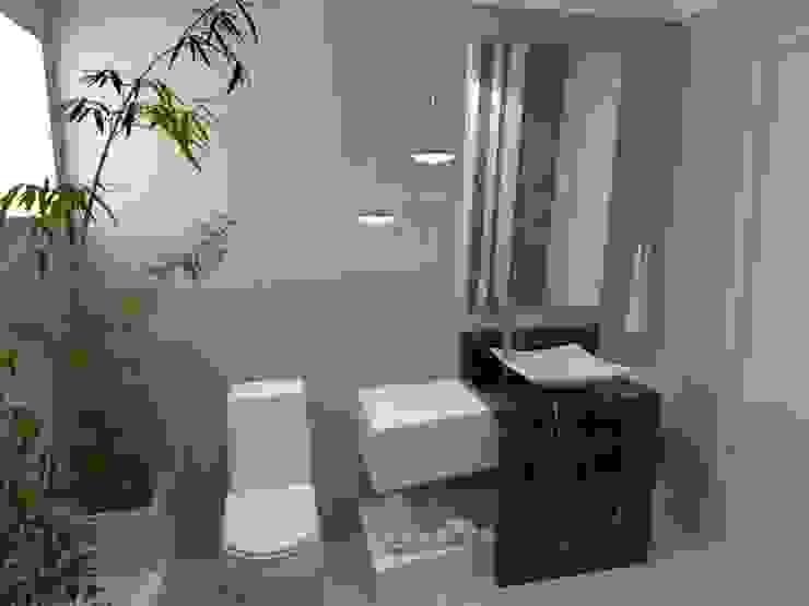 Ванная комната в стиле модерн от Arquitetando Arquitetas Associadas Модерн