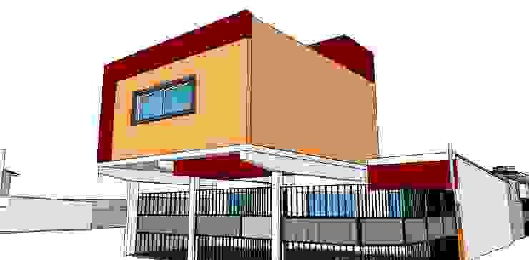 Casa WM Casas estilo moderno: ideas, arquitectura e imágenes de GM Arquitectura&Construcción Moderno Ladrillos
