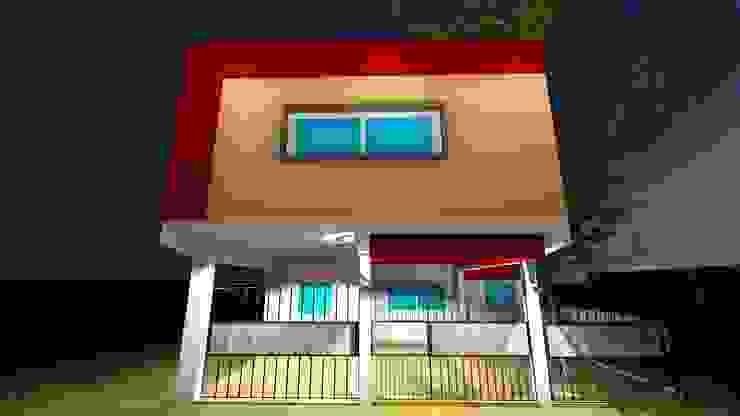 Casas estilo moderno: ideas, arquitectura e imágenes de GM Arquitectura&Construcción Moderno