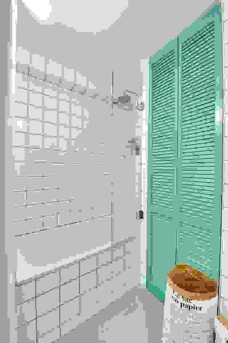 blackStones Scandinavian style bathroom Ceramic Green