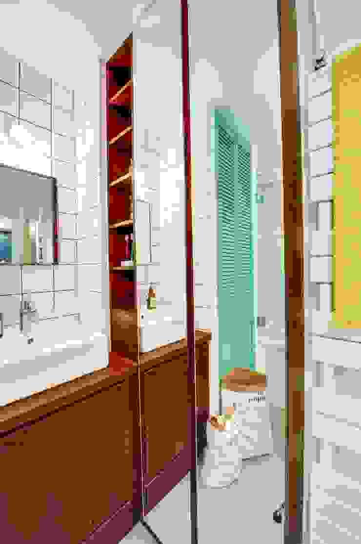 blackStones Scandinavian style bathroom Plywood Green