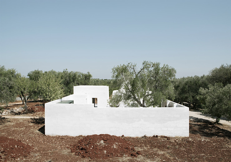 Дома в стиле минимализм от elia mangia design studio Минимализм