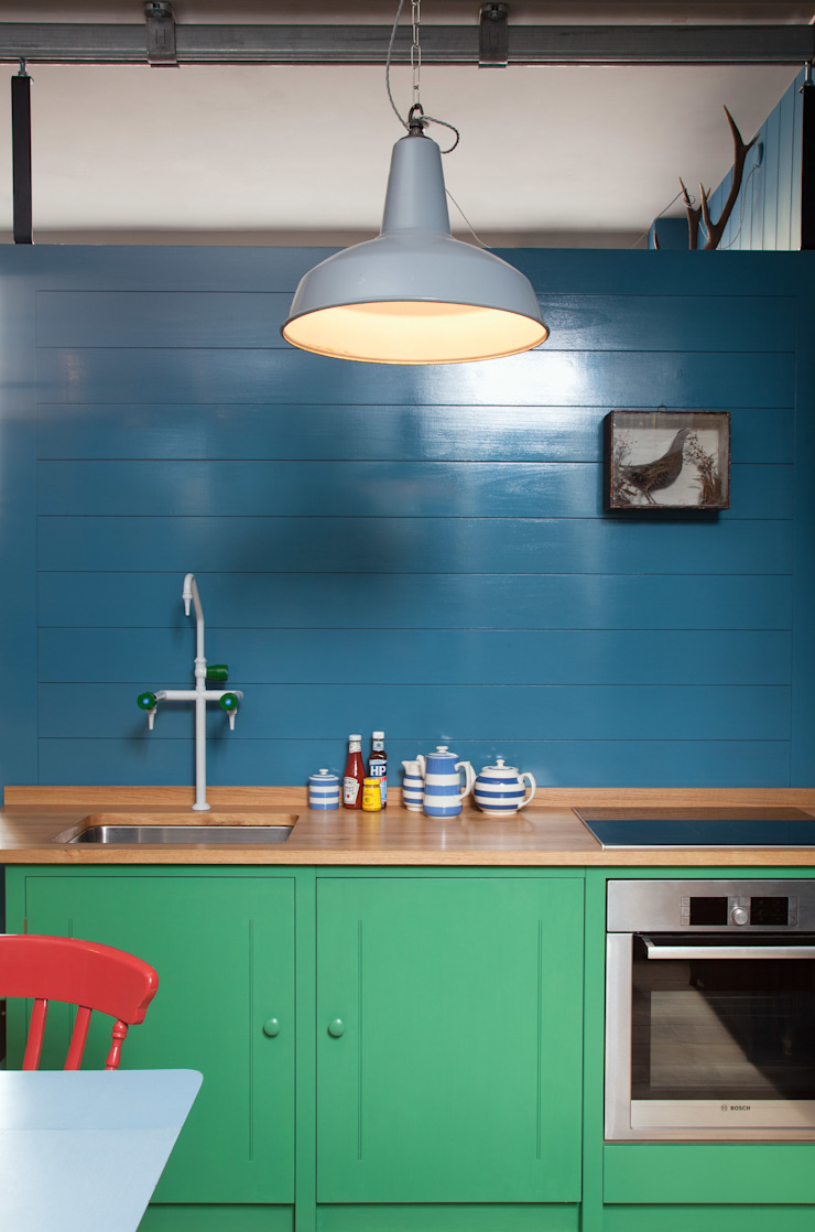 N1 Kitchen by British Standard by British Standard by Plain English Classic Wood Wood effect