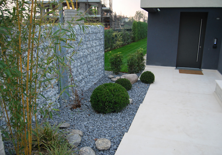 Jardin moderne par Lugo - Architettura del Paesaggio e Progettazione Giardini Moderne