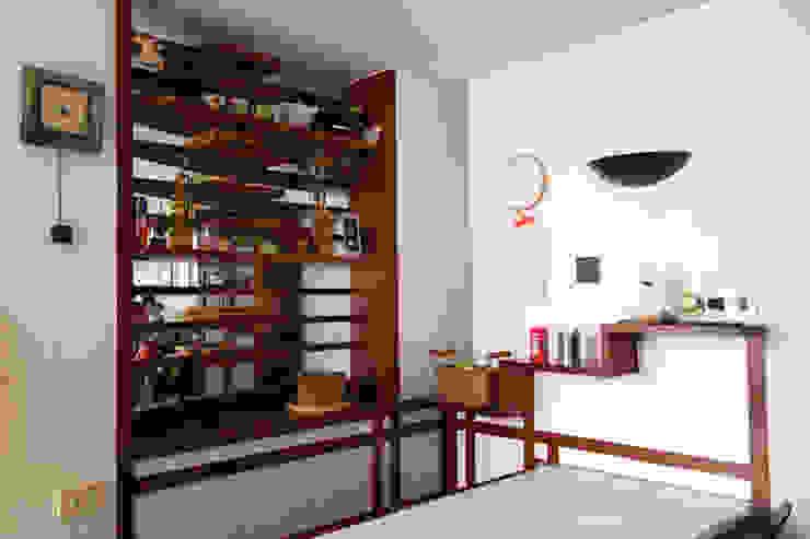 cucina pranzo Cucina moderna di PARIS PASCUCCI ARCHITETTI Moderno