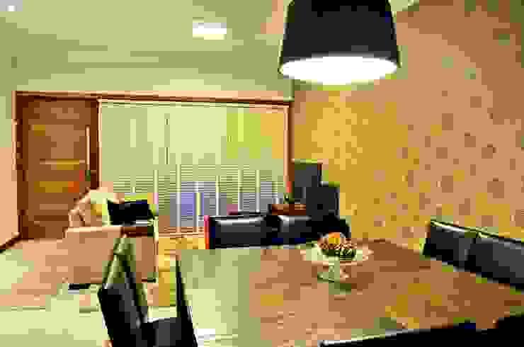 Salas de jantar modernas por Lozí - Projeto e Obra Moderno