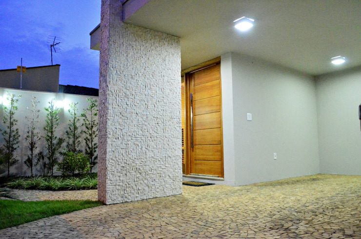 Casas de estilo  por Lozí - Projeto e Obra,