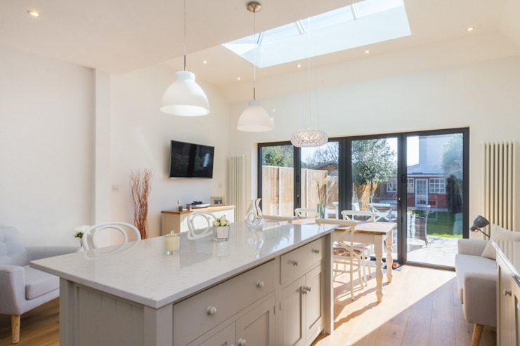 Extension and Renovation, Surbiton KT6 Modern kitchen by TOTUS Modern