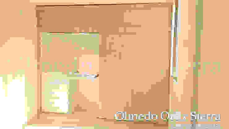 Closets de Cocinas Integrales Olmedo Ortiz Sierra Moderno Madera Acabado en madera