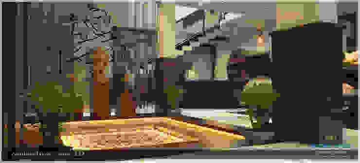 Contemporary Interior Design Modern corridor, hallway & stairs by Premdas Krishna Modern