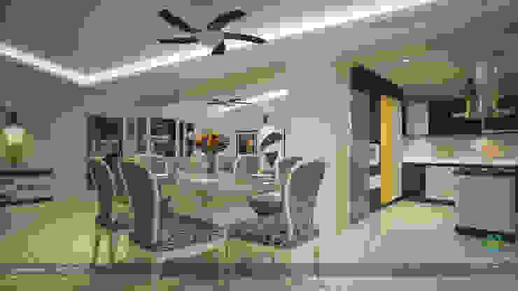 Modern Contemporary Interior Design Modern dining room by Premdas Krishna Modern