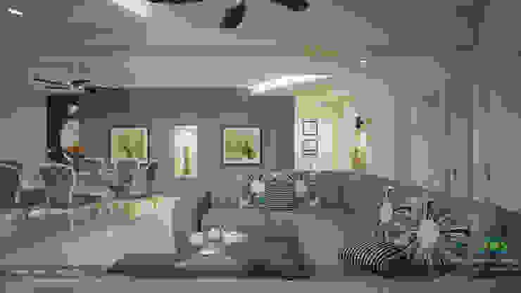 Modern Contemporary Interior Design Modern living room by Premdas Krishna Modern
