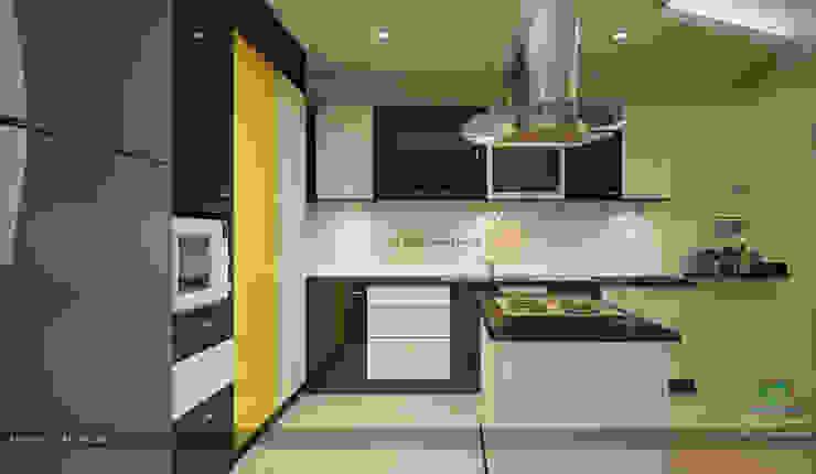Modern Contemporary Interior Design Modern kitchen by Premdas Krishna Modern
