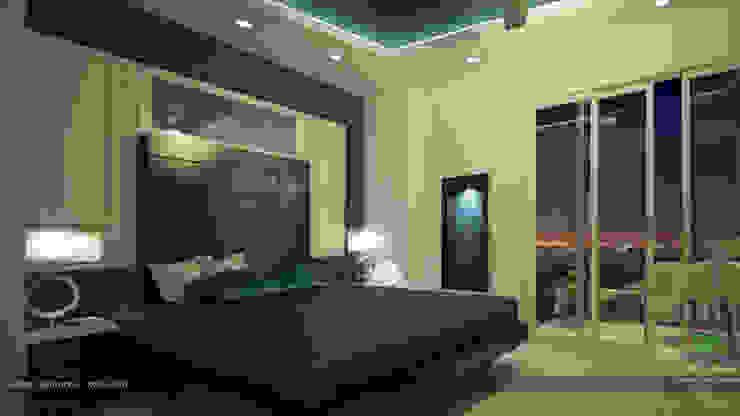 Modern Contemporary Interior Design Modern style bedroom by Premdas Krishna Modern