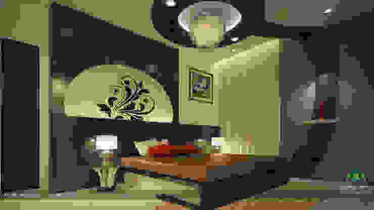 Impressive contemporary style Modern style bedroom by Premdas Krishna Modern