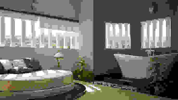 Modish Modern Contemporary... Modern style bedroom by Premdas Krishna Modern