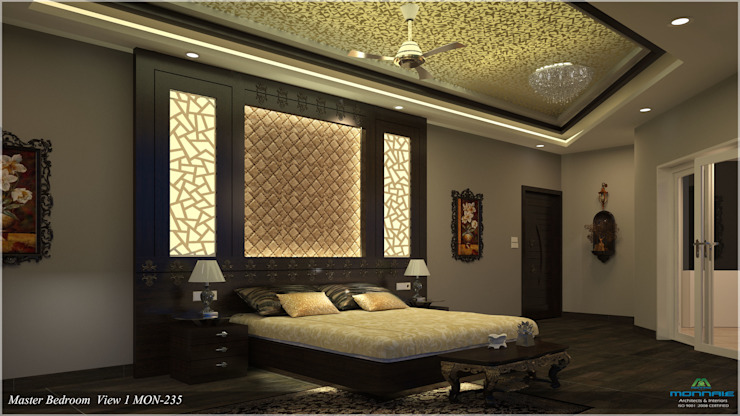 Modish Modern Contemporary... Modern style bedroom by Premdas Krishna Modern
