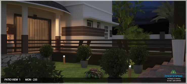 Modish Modern Contemporary... Modern garden by Premdas Krishna Modern