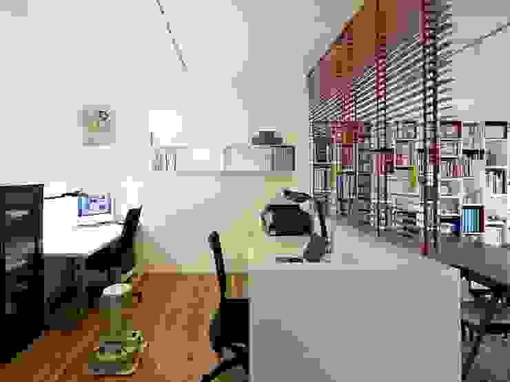 6th studio / 一級建築士事務所 スタジオロク Modern Study Room and Home Office