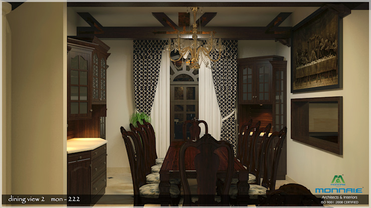 Dining room Asian style dining room by Premdas Krishna Asian