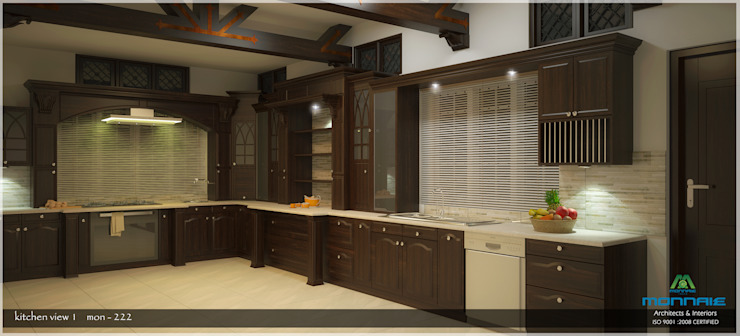 Kitchen Asian style kitchen by Premdas Krishna Asian