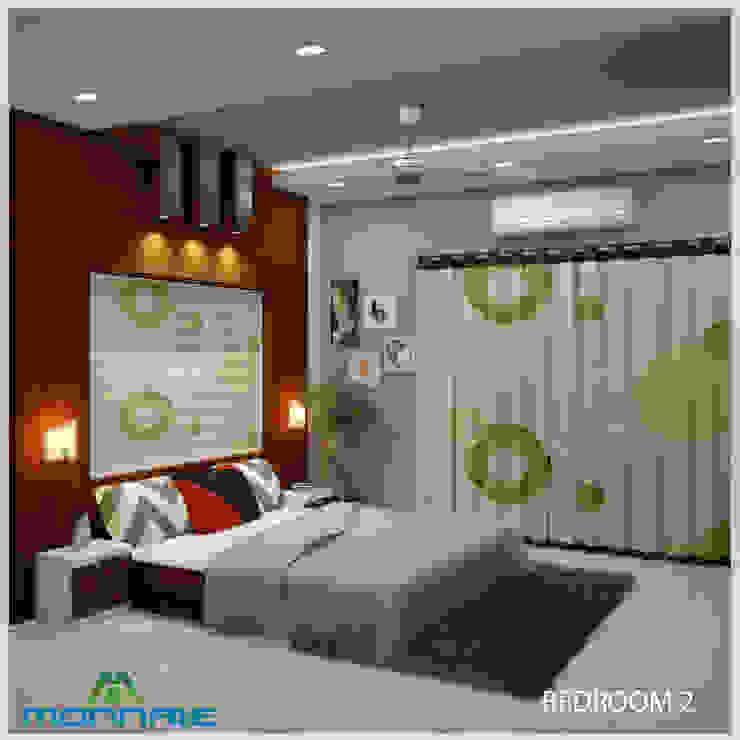 Спальня в стиле модерн от Premdas Krishna Модерн