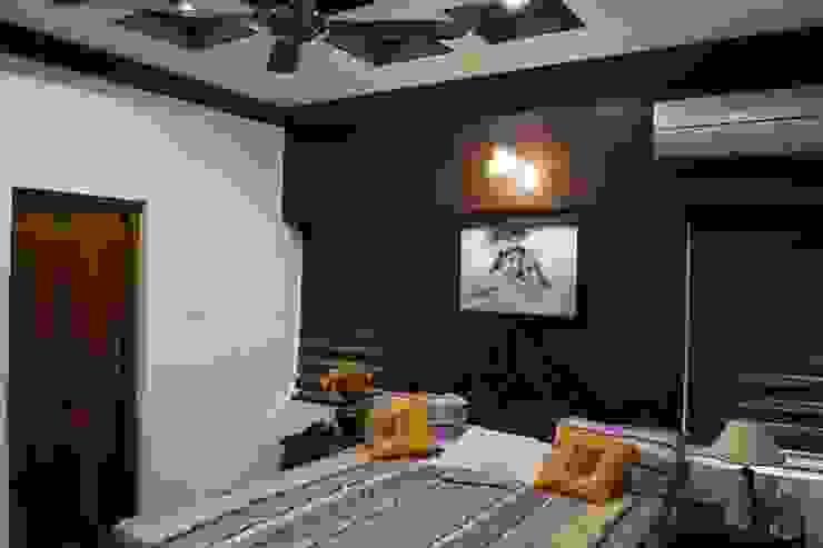 Stunning Contemporary Interior Design Works Modern style bedroom by Premdas Krishna Modern